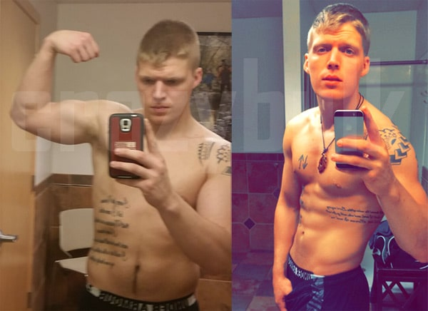 "William has lost almost 17 pounds and he is more motivated then ever to reach new goals. ""My strength grew and grew; next thing I knew I was one of the strongest in the gym,"" he said. Click here to see more Crazy Bulk's user testimonials"