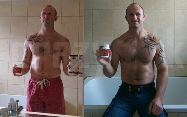 Before and After CrazyBulk D-Bal